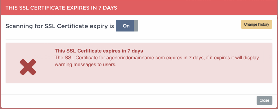 Ssl Certificate Expiration Check